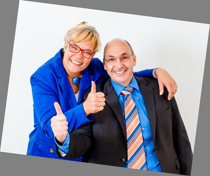 Abbildung Thumbs Up für IHK-Prüfung Kauffrau für Büromanagement Teil 2