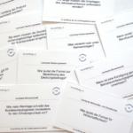 Abbildung Lernkarten Papier